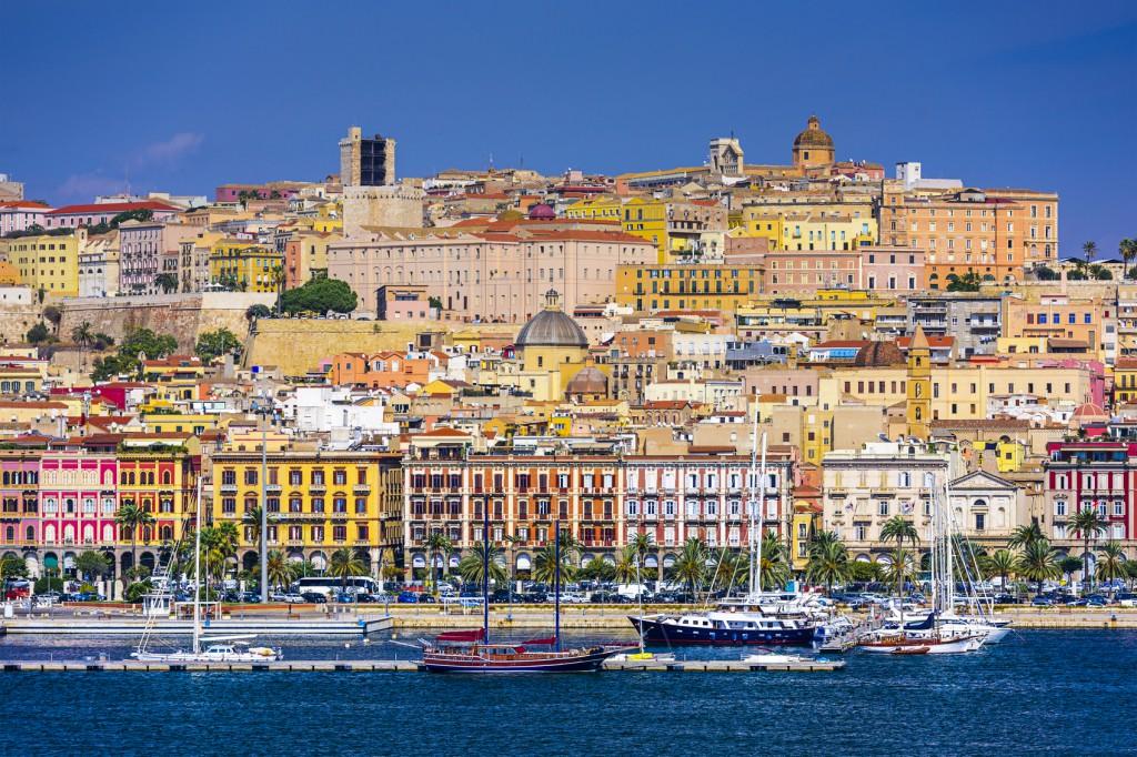 Cagliari, Italy Cityscape